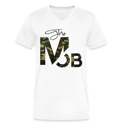 The MOB BootCamp Edition V-Neck - Men's V-Neck T-Shirt by Canvas
