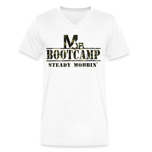 STEADY MOBBIN' BootCamp Edition V-Neck - Men's V-Neck T-Shirt by Canvas