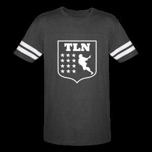 Black Jersey TLN T - Vintage Sport T-Shirt