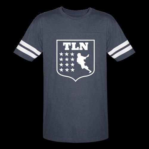 Navy Jersey TLN T - Vintage Sport T-Shirt