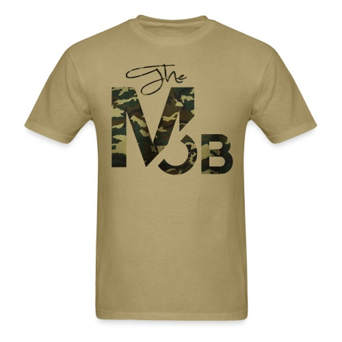 The MOB BootCamp Edition (TAN) - Men's T-Shirt