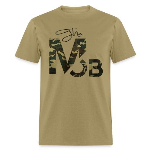 The MOB BootCamp Edition (TAN) - Men's T-Shirt