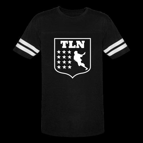 Blue Jersey TLN T - Vintage Sport T-Shirt