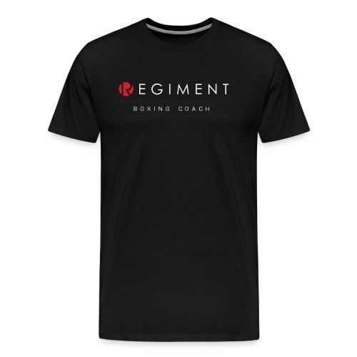 Black Regiment Boxing Coaches T-shirt  - Men's Premium T-Shirt