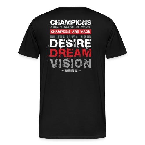 Black Regiment Boxing T-shirt  - Men's Premium T-Shirt