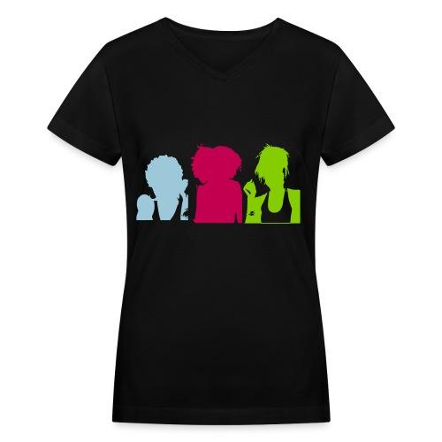 Sistahs (V-Neck) - Women's V-Neck T-Shirt
