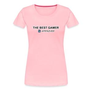 Best Women Gamer Premium T-Shirt - Women's Premium T-Shirt