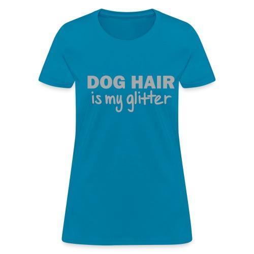 DOG GLITTER - Women's T-Shirt