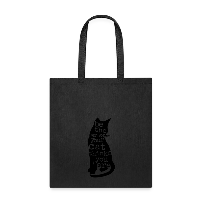 Be the Purrson - Tote Bag