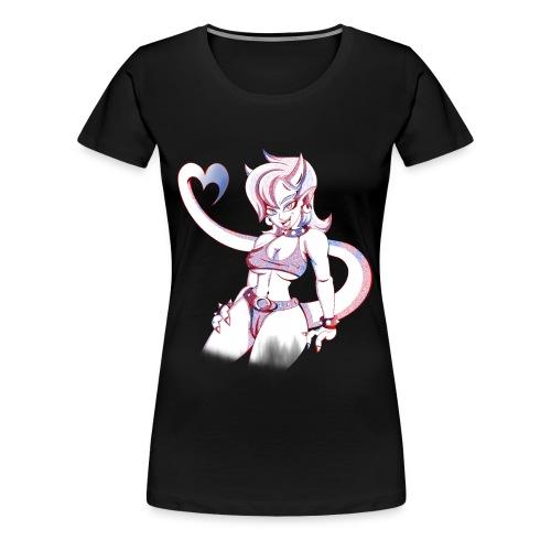 Demon Girl (Womens) - Women's Premium T-Shirt