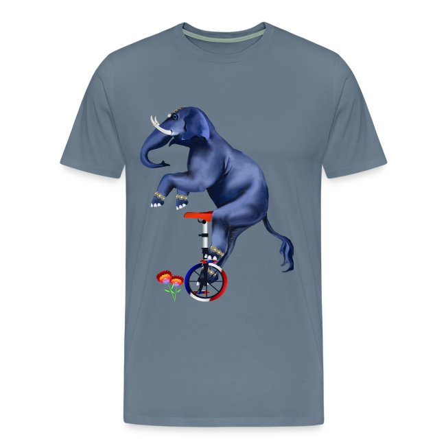 Elephant-Unicycle