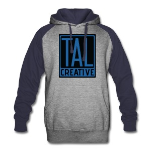 TAL Creative Colorblock Blue Hoodie - Colorblock Hoodie