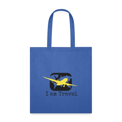 I am Travel- Travel Tote - Tote Bag