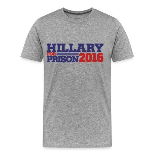 Hillary 4 Prison - Men's Premium T-Shirt