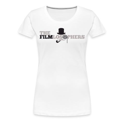 Woman's Filmlosophers Tee  - Women's Premium T-Shirt