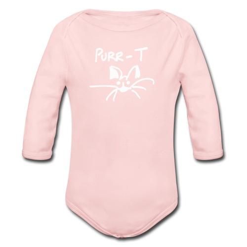 PURR-T Baby - Organic Long Sleeve Baby Bodysuit