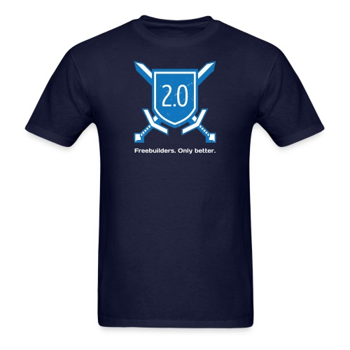 Men's T - Revamped w/ Text - Men's T-Shirt