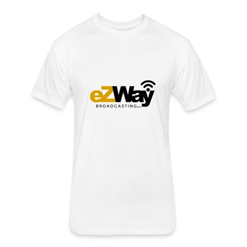 eZway Broadcasting Tshirt Cotton - Fitted Cotton/Poly T-Shirt by Next Level