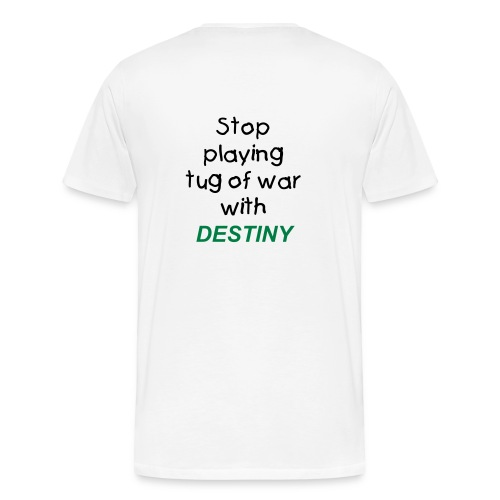 tug of war w/destiny - Men's Premium T-Shirt