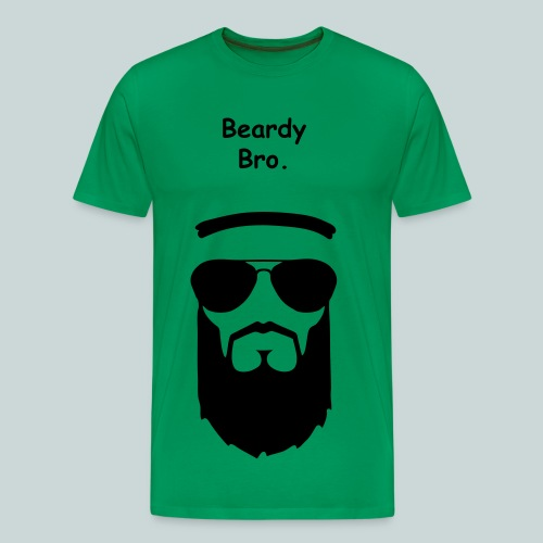 Beardy - Men's Premium T-Shirt