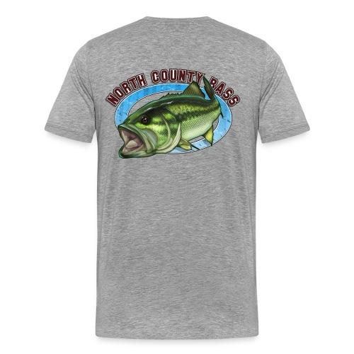 Premium T-Shirt, Back Logo - Men's Premium T-Shirt