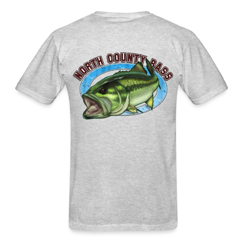 T-Shirt, Front and Back Logo - Men's T-Shirt