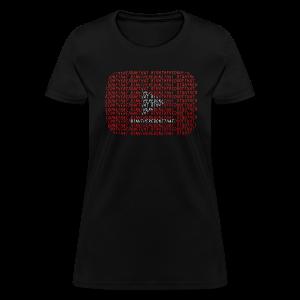 YouTube Logo + BinhThereDoneThat = Too Much of Me Womens - Women's T-Shirt