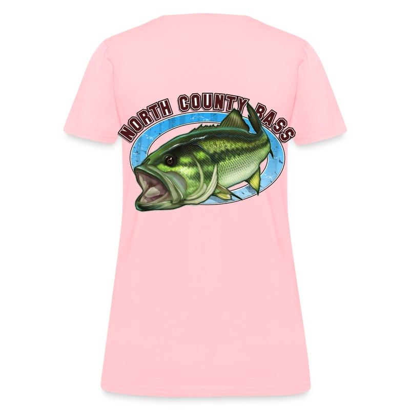Woman's T-Shirt, Back Logo - Women's T-Shirt