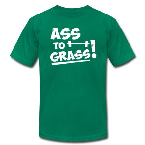 Ass to grass! - Men's T-Shirt by American Apparel