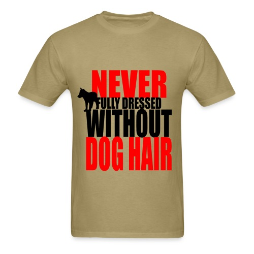 Dog Hair CompletesYou -mens - Men's T-Shirt
