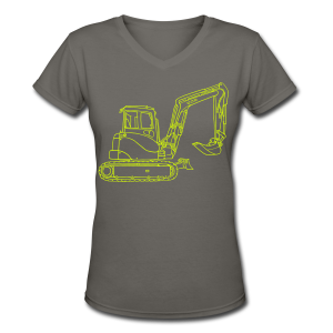Digger - Women's V-Neck T-Shirt