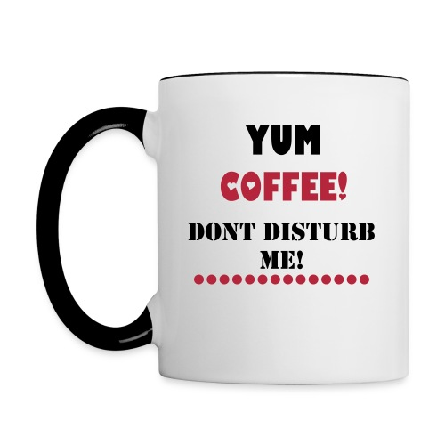 Yummy Coffee! - Contrast Coffee Mug