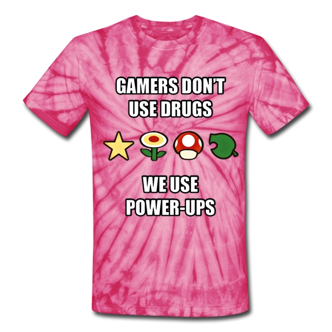 Gamer's Don't Use Drugs