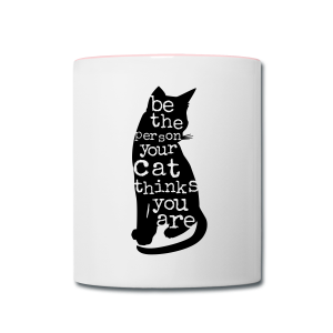 Be the Purrson - Contrast Coffee Mug