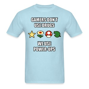 Gamer's Don't Use Drugs - Men's T-Shirt