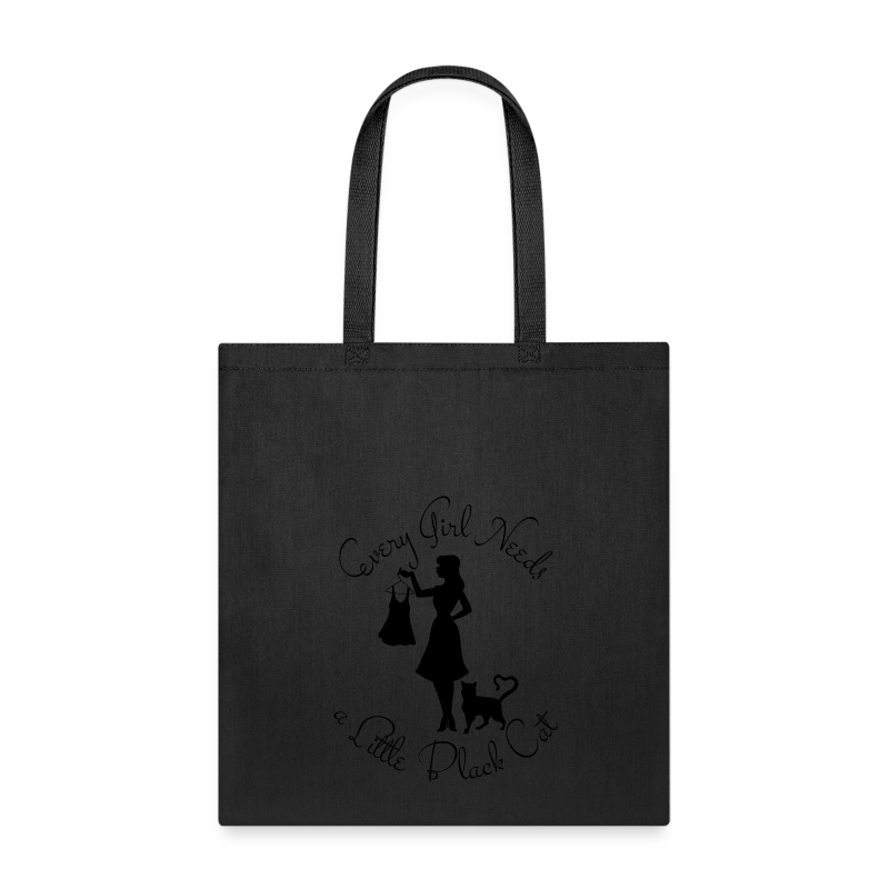 Every Girl Needs a Little Black Cat - Tote Bag