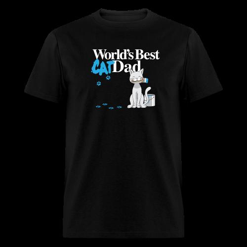 World's Best Cat Dad - Men's T-Shirt