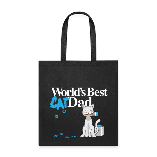 World's Best Cat Dad - Tote Bag