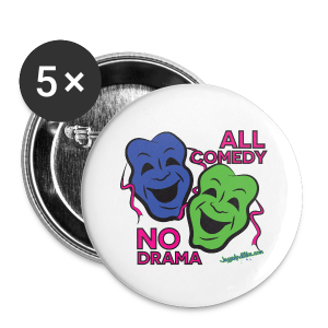 All Comedy - Buttons - Small Buttons
