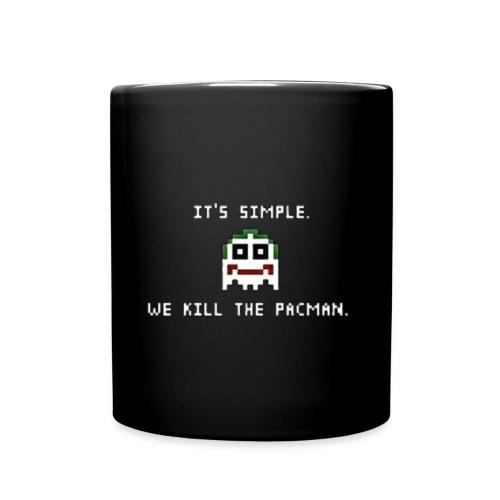 Simple We Kill The Pac-Man - Full Color Mug