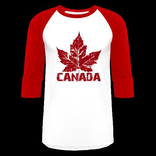 Cool Canada Souvenir Jersey Men's Retro Canada Shirt - Baseball T-Shirt