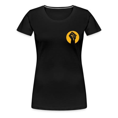 Join the REVOLUTION FIST - WOMES's - RERI T - Women's Premium T-Shirt