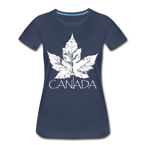 Cool Canada Souvenir T-shirt Women's Canada T-shirt - Women's Premium T-Shirt