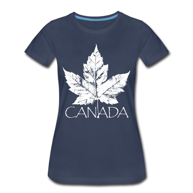 Cool Canada Souvenir T-shirt Women's Canada T-shirt