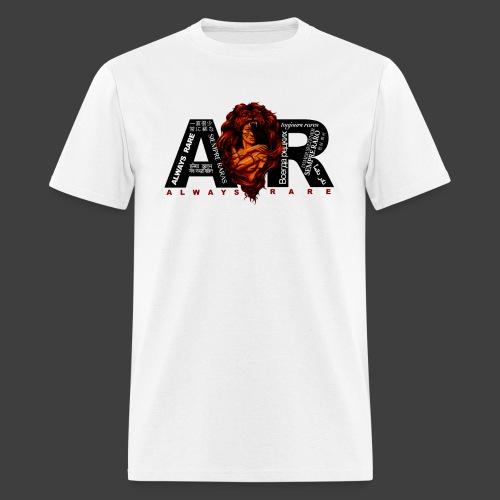 Original White Always Rare Languages T-Shirt - Men's T-Shirt