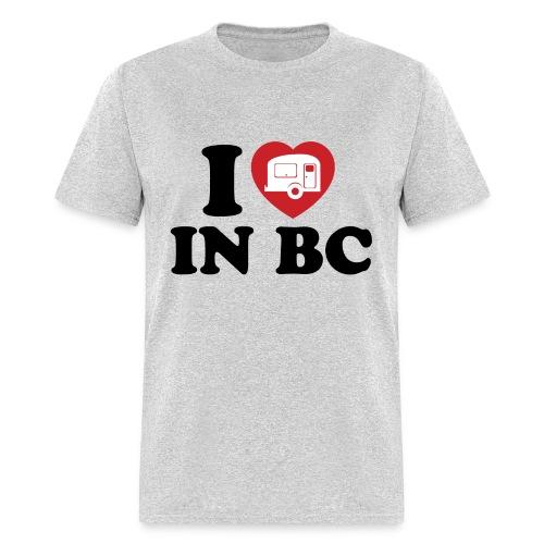 I Love Camping in BC - Men - Men's T-Shirt
