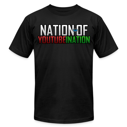 NATION OF YOUTUBEINATION - By American Apparel - Men's  Jersey T-Shirt