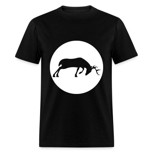 deer ZFPS logo - Men's T-Shirt
