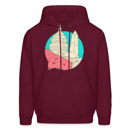 My City Collection - Washington, DC (Men's) - Men's Hoodie