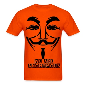 We Are Anonymous T Shirt - Men's T-Shirt